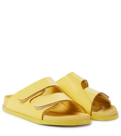 Birkenstock - x Toogood The Forager leather sandals | Mytheresa