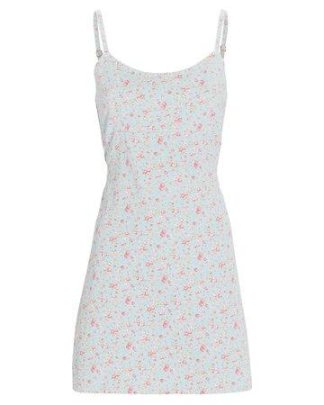 Denimist Floral Empire Waist Mini Dress   INTERMIX®
