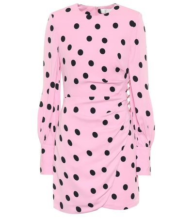 Rebecca Vallance - Mattel polka-dot minidress | Mytheresa