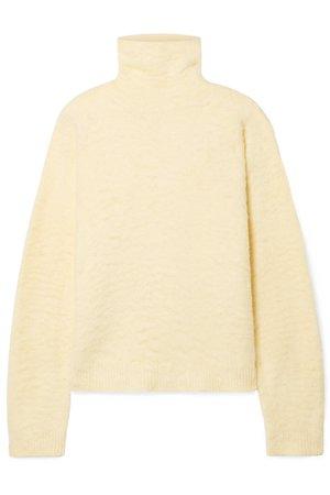 Acne Studios | Kristel cotton-blend turtleneck sweater | NET-A-PORTER.COM