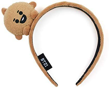 Amazon.com: BT21 Official Merchandise by Line Friends - SHOOKY Baby Character Fashion Headband: Beauty