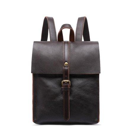 Heritage Vintage Leather Mini Backpack – YONDER BAGS
