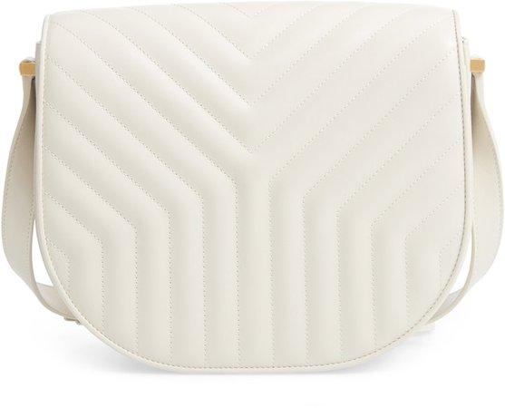 Joan Quilted Leather Shoulder Bag