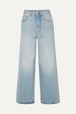 Totême | Flair high-rise wide-leg jeans | NET-A-PORTER.COM
