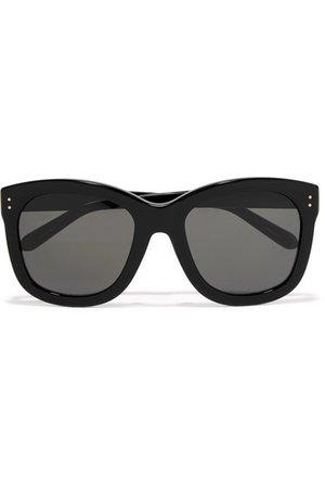 Linda Farrow | Oversized square-frame acetate sunglasses | NET-A-PORTER.COM