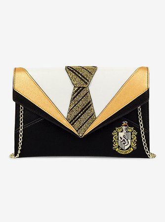 Danielle Nicole Harry Potter Hufflepuff Uniform Clutch Gold