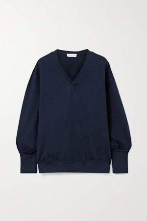 Napoli Cotton-jersey Sweatshirt - Navy