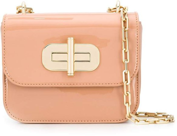 small twist-lock shoulder bag