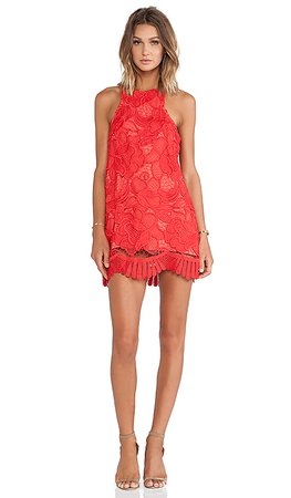 Lovers + Friends Caspian Shift Dress in Coral | REVOLVE