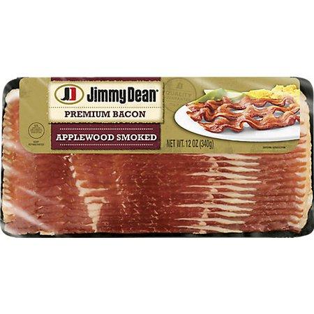 Jimmy Dean Premium Applewood Smoked Bacon - 12 Oz - Randalls