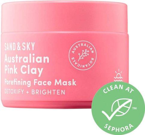 Sand & Sky - Autralian Pink Clay Porefining Face Mask