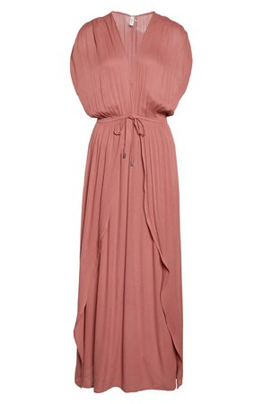 Elan Wrap Maxi Cover-Up Dress (Nordstrom Exclusive) | Nordstrom