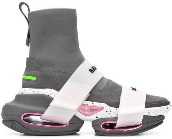 BBold sock-style sneakers