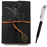 Amazon.com : Sunrise Journal by SohoSpark, Writing Journal, Personal Diary, Lined Journal, Travel, 6x8.75 Notebook, Writers Notebook, Faux Leather, Refillable, Fountain Pen Safe, Gift, Lay Flat Binding : Office Products