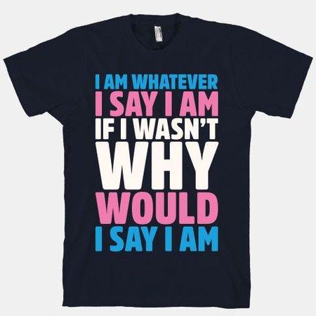 transgender t shirt pride