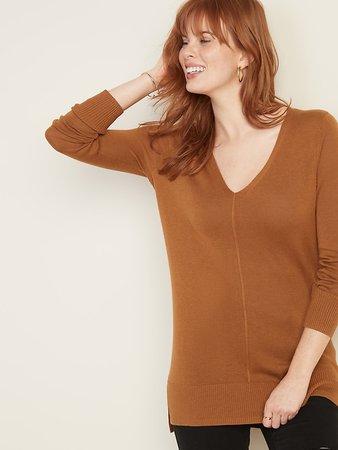 V- Neck Tunic Sweater for Women | Old Navy