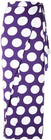 Polka Dots Midi Skirt