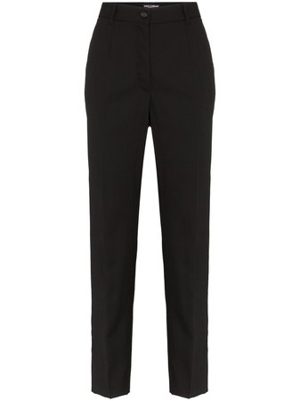 Dolce & Gabbana Tailored Cropped Trousers Continuity | Farfetch.Com