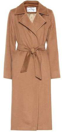 3Manuel camel wool coat