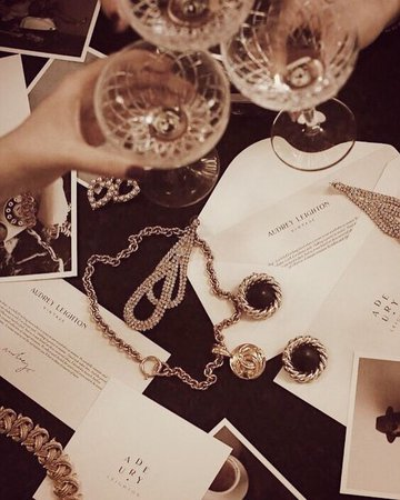rich party aesthetic