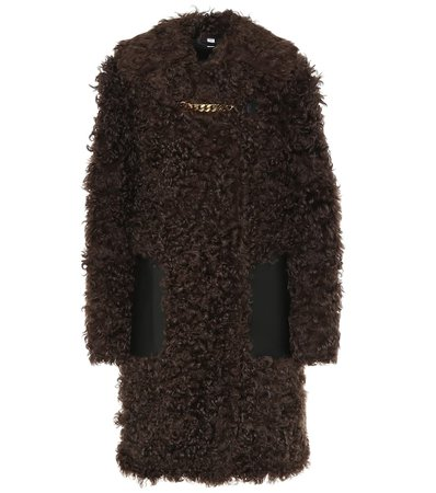 Burberry - Shearling coat | Mytheresa