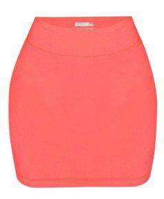 Hidden Cult Adhara Neon Coral Skirt