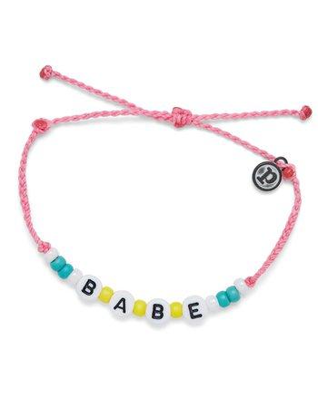 PURA VIDA Babe Beaded Bracelet - PINK - 10BRK2114 | Tillys