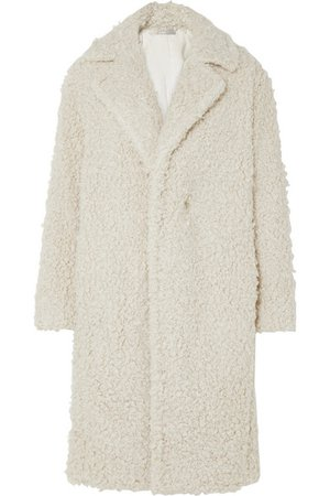 Vince | Faux shearling coat | NET-A-PORTER.COM