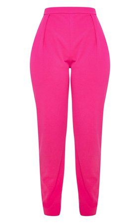 Pink Cigarette Trouser   Trousers   PrettyLittleThing USA