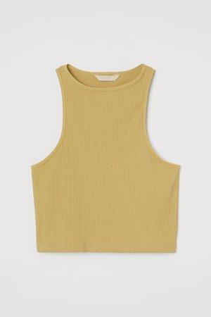 Seamless Tank Top - Yellow