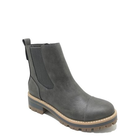 Time and True Women's Lug Chelsea Boot (Wide Width Available) - Walmart.com