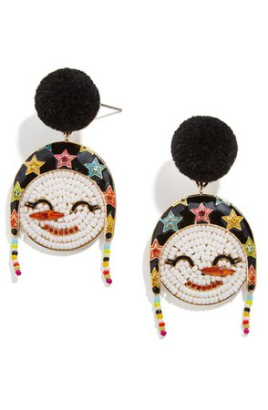BaubleBar Snowwoman Beaded Earrings | Nordstrom