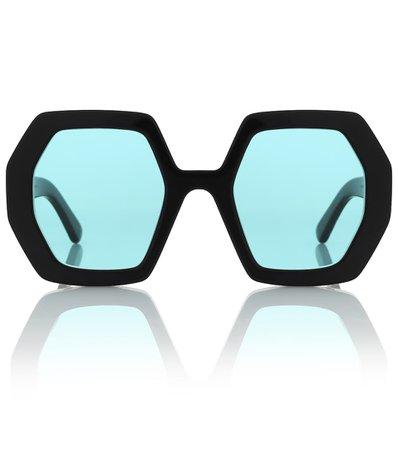 Oversized Sunglasses | Gucci - Mytheresa