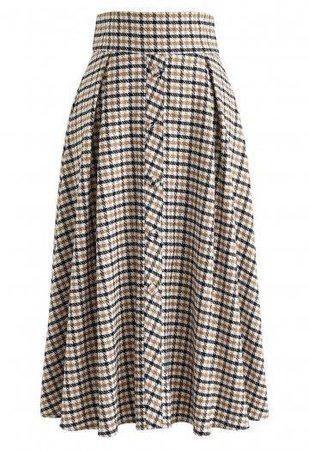 tartan midi skirt - Google Search