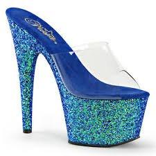 metallic blue shoes - Google Search