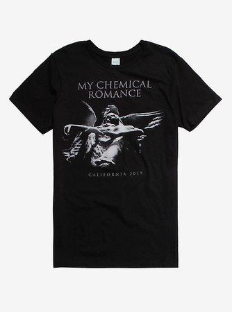 My Chemical Romance Angel Statue T-Shirt