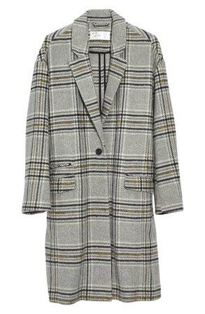 Madewell Plaid Bryant Coat   Nordstrom