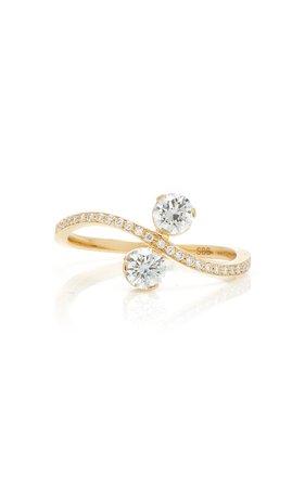 Sophie Bille Brahe Bianca 18K Gold Diamond Ring