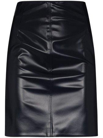 Kwaidan Editions faux-leather Mini Skirt - Farfetch