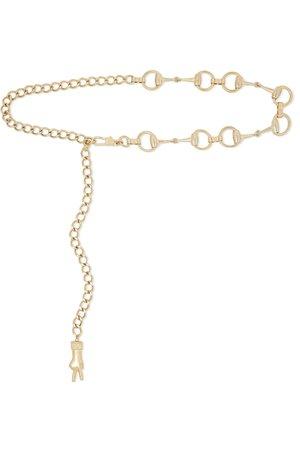 Gucci   Horsebit gold-tone belt   NET-A-PORTER.COM