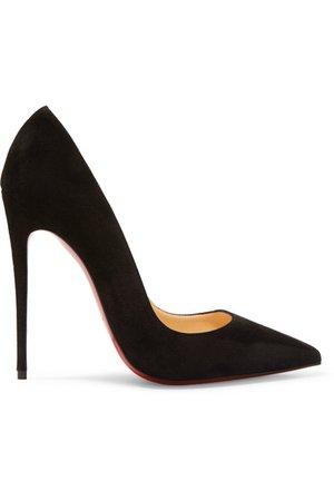 Christian Louboutin | So Kate 120 suede pumps | NET-A-PORTER.COM