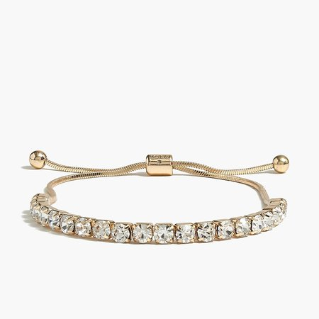 J.Crew Factory: Crystal Slider Bracelet For Women