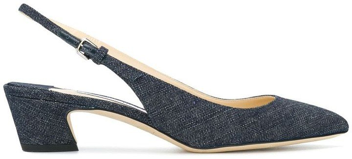 Gemma 40 denim pumps