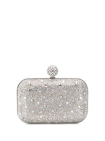 Jimmy Choo Cloud Crystal-Embellished Clutch Ss20   Farfetch.com