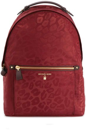 large Kelsey leopard backpack