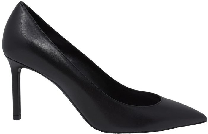 Anjia Pumps In Black Leather