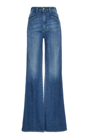 Philosophy di Lorenzo Serafini Denim High Waisted Flared Trouser