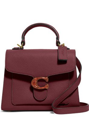 COACH Tabby Pebbled Leather Flap Bag   Nordstrom