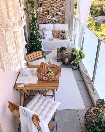 balcony house decor