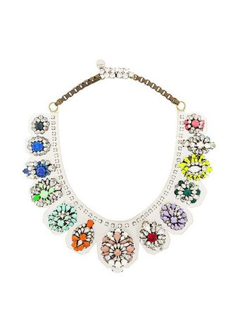 Shourouk Rainbow Necklace - Farfetch